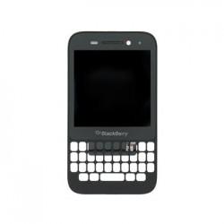 LCD Display + Dotyková Deska + Přední Kryt BlackBerry Q5 Black