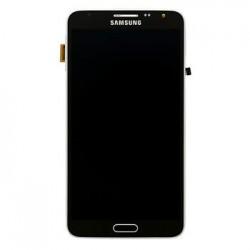 LCD display + Dotyk + Přední kryt Samsung N7505 Galaxy Note3 Neo Black (Service Pack)