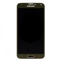 LCD display + Dotyk Samsung G900 Galaxy S5 Gold (Service Pack)