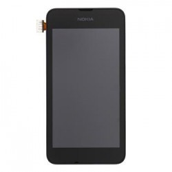 Nokia Lumia 530 Dotyková Deska + LCD Display + Přední Kryt