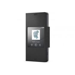 SCR26 Sony Smart Cover Black pro D5803 Xperia Z3compact (EU Blister)