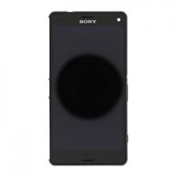 LCD Display + Dotyková Deska + Přední Kryt Black Sony D5803 Xperia Z3compact (Service Pack)