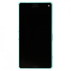 LCD Display + Dotyková Deska + Přední Kryt Green Sony D5803 Xperia Z3compact (Service Pack)