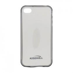 Kisswill TPU Pouzdro Black pro iPhone 4/4S