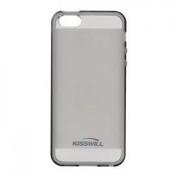 Kisswill TPU Pouzdro Black pro iPhone 5/5S/SE