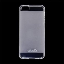 Kisswill TPU Pouzdro Transparent pro iPhone 5/5S/SE