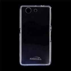Kisswill TPU Pouzdro Transparent pro Sony D5803 Xperia Z3compact