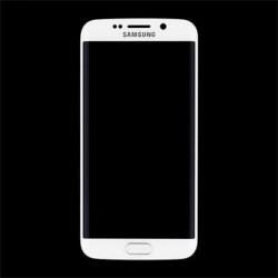 LCD display + Dotyk + Přední kryt Samsung G925 Galaxy S6 Edge White (Service Pack)