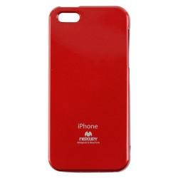 Mercury Jelly Case pro iPhone 5/5S/SE Red