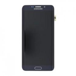 LCD display + Dotyk + Přední kryt Samsung G928 Galaxy S6 Edge Plus Black (Service Pack)