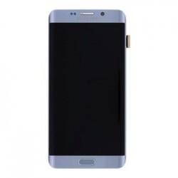 LCD display + Dotyk + Přední kryt Samsung G928 Galaxy S6 Edge Plus Silver (Service Pack)