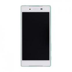 LCD Display + Dotyková Deska + Přední Kryt White Sony E6653 Xperia Z5 (Service Pack)