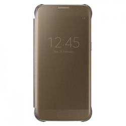 EF-ZG935CFE Samsung Clear View Pouzdro Gold pro G935 Galaxy S7 Edge (EU Blister)