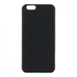Nillkin Synthetic Fiber Ochranný Zadní Kryt Carbon Black pro iPhone 6/6S