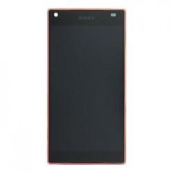 LCD Display + Dotyková Deska + Přední Kryt Coral Sony E5823 Xperia Z5compact (Service Pack)