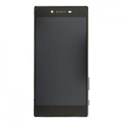 LCD Display + Dotyková Deska + Přední Kryt Black Sony E6853 Z5 Premium (Service Pack)