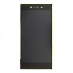 LCD Display + Dotyková Deska + Přední Kryt Gold Sony E6853 Z5 Premium (Service Pack)