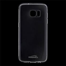 Kisswill TPU Pouzdro Transparent pro Samsung G935 Galaxy S7 Edge