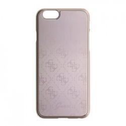GUHCP6MEPI Guess 4G Metallic Hard Pouzdro Pink pro iPhone 6/6