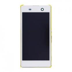 LCD Display + Dotyková Deska + Přední Kryt White Sony E5603 Xperia M5 (Service Pack)