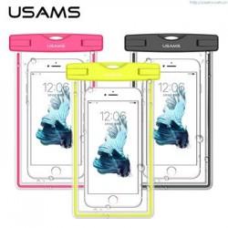 "USAMS Luminous Vodotěsné Pouzdro Pink pro Smartphone 6"""