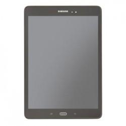 """LCD display + Dotyk + Přední kryt Samsung T550 Galaxy TAB A 9.7""""  Black (Service Pack)"""