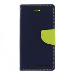 Mercury Fancy Diary Pouzdro pro iPhone 7/8 Navy/Lime