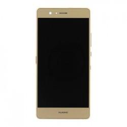 Huawei  P9 Lite LCD Display + Dotyková Deska + Přední Kryt Gold