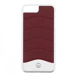 MEHCP7LCUSRE Mercedes Hard Case Wave III Aluminium Red pro iPhone 7/8 Plus