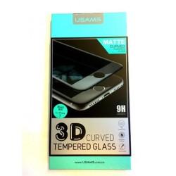 USAMS 3D Matte Curved Tvrzené Sklo Black pro iPhone 7 Plus