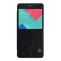 Nillkin Qin S-View Pouzdro Black pro Samsung A320 Galaxy A3 2017