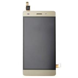 Huawei  P8 Lite LCD Display + Dotyková Deska + Přední Kryt Gold