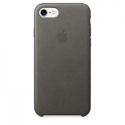 MMY12ZM/A Apple Kožený Kryt Storm Grey pro iPhone 7/8 (EU Blister)