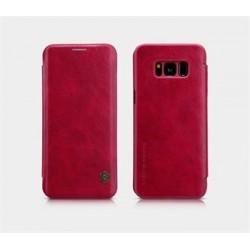 Nillkin Qin Book Pouzdro pro Samsung G955 Galaxy S8 Plus Red
