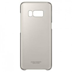 EF-QG950CFE Samsung Clear Cover Gold pro G950 Galaxy S8 (EU Blister)