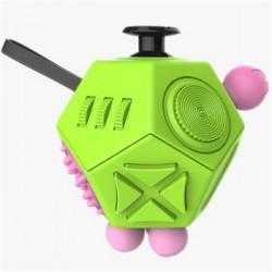 Fidget Cube 12-Side Green