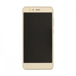 Huawei P10 Lite LCD Display + Dotyková Deska + Přední Kryt Gold (Service Pack)