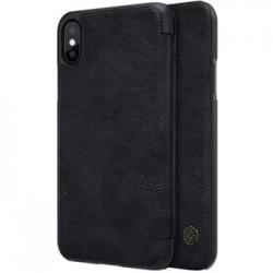 Nillkin Qin Book Pouzdro Black pro iPhone X