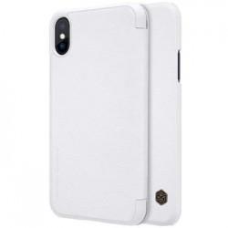 Nillkin Qin Book Pouzdro White pro iPhone X