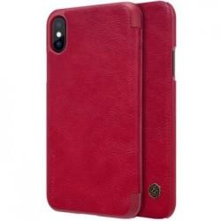 Nillkin Qin Book Pouzdro Red pro iPhone X