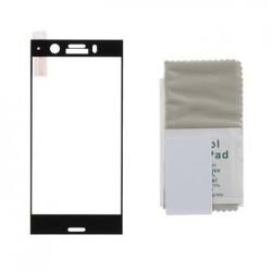 TMP2176CB RoxFit Sony Xperia XZ1 Compact Tvrzené Sklo Clear/Black