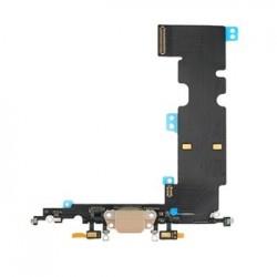 iPhone 8 Plus Flex Kabel vč. Dobíjecího Konektoru Gold