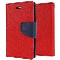 Mercury Fancy Diary Pouzdro pro iPhone X Red/Navy