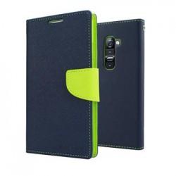 Mercury Fancy Diary Pouzdro pro iPhone X Navy/Lime