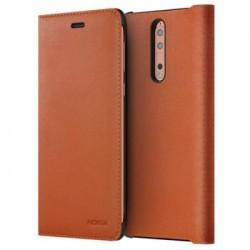 CP-801 Nokia Leather Flip Pouzdro pro Nokia 8 Copper (EU Blister)