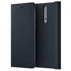 CP-801 Nokia Leather Flip Pouzdro pro Nokia 8 Blue (EU Blister)
