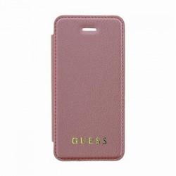 GUFLBKPSEIGLTRG Guess Iridescent Book Pouzdro Pink pro iPhone 5/5S/SE