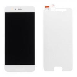 Huawei P10 LCD Display + Dotyková Deska + Přední Kryt White (Service Pack)