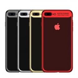 USAMS Kingdom TPU Zadní Kryt Light Gold pro iPhone 7/8