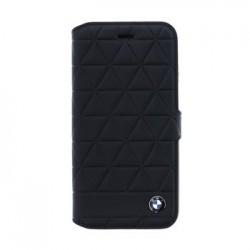 BMFLBKI8HEXBK BMW Hexagon Kožené Book Pouzdro Black pro iPhone 8